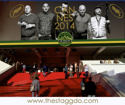 Cannes red carpet Stagg Do