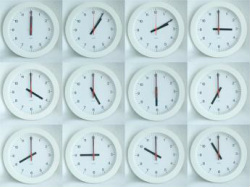 Picture of clocks and time