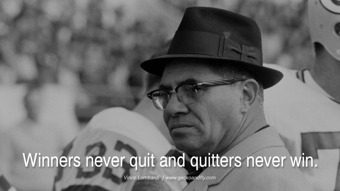 Vince Lombardi inspires The Stagg Do
